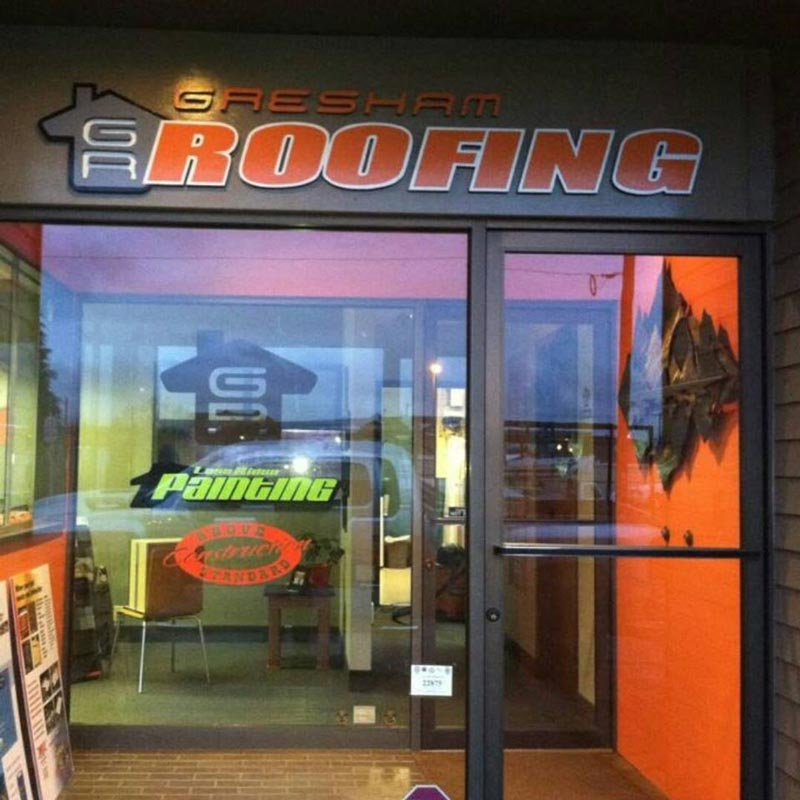 Gresham Roofing Office
