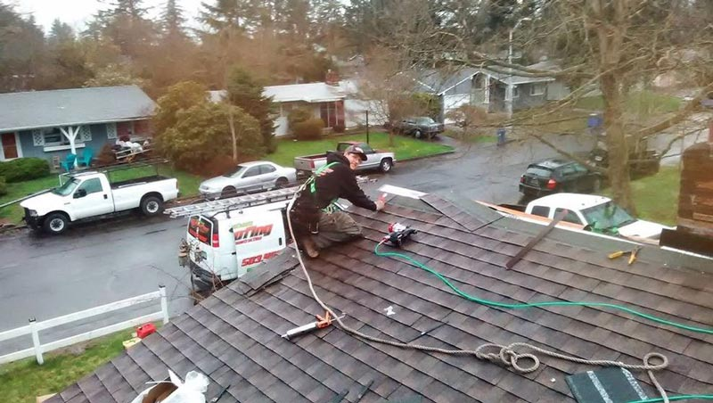 New Shingles Installation