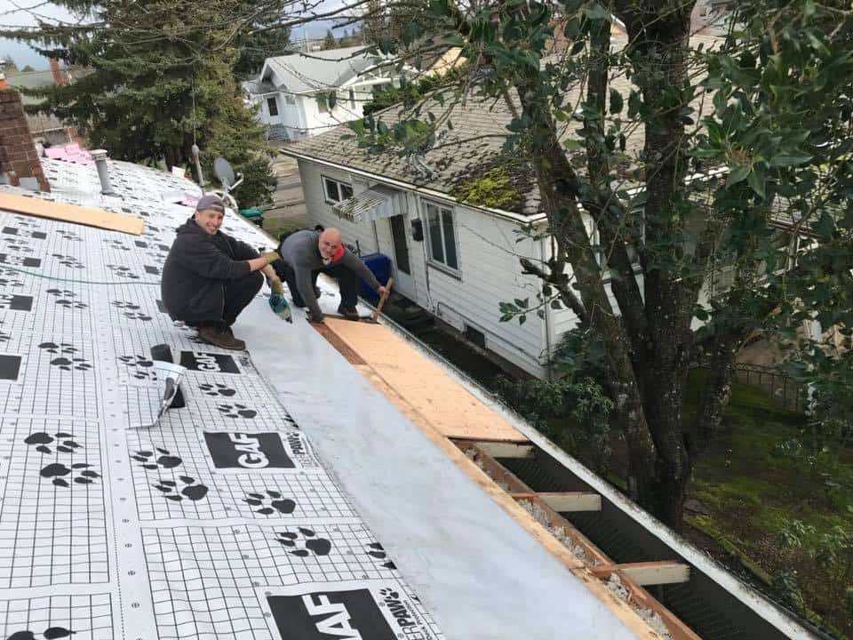 Home Roof Replacement